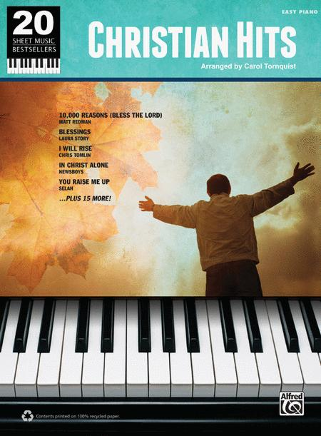 20 Sheet Music Bestsellers -- Christian Hits