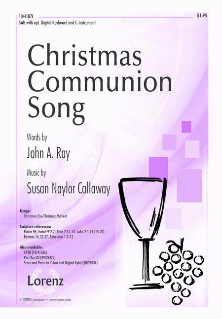 Christmas Communion Song