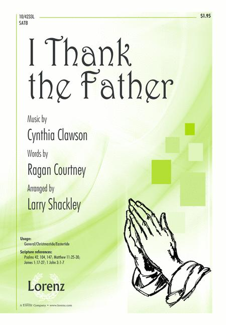 I Thank the Father