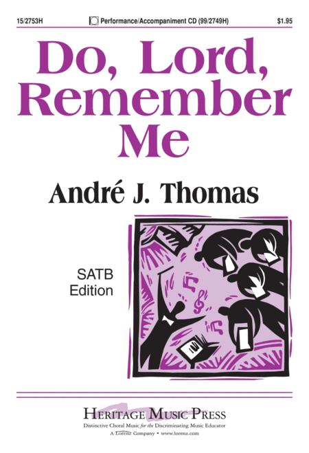 Do, Lord, Remember Me