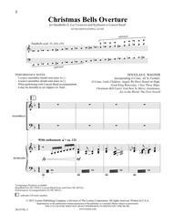Christmas Bells Overture - Kybd/HB Score