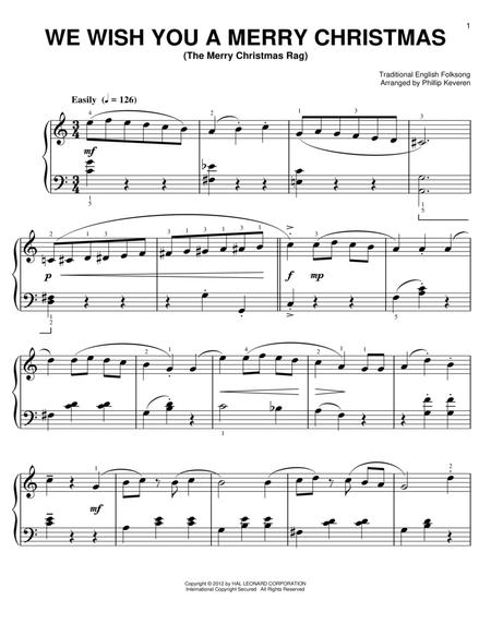 We Wish Ua Merry Christmas.Download We Wish You A Merry Christmas Sheet Music By