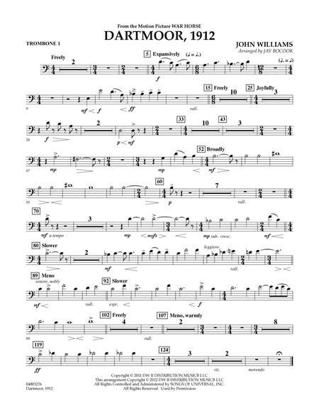 Dartmoor, 1912 (from War Horse) - Trombone 1