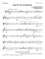 Sing We Now Of Christmas - Baritone Sax