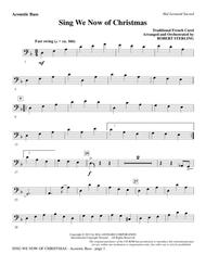 Sing We Now Of Christmas - Acoustic Bass