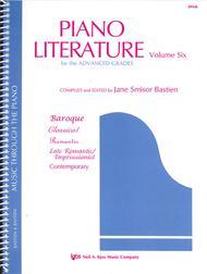 Piano Literature, Volume 6