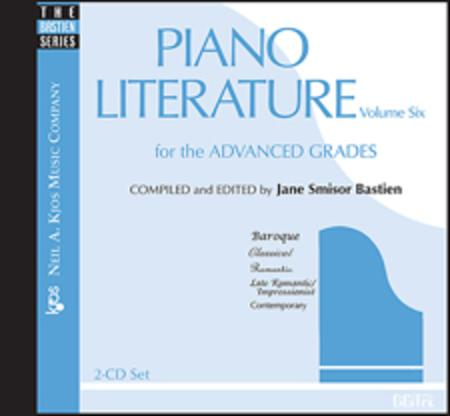 Piano Literature Vol. 6 CD