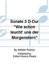 Sonate 3 D-Dur