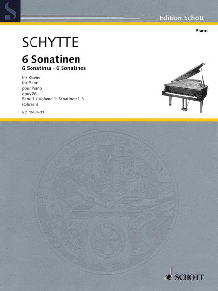 Six Sonatinas, Op. 76, Vol. 1 (Nos. 1-3)