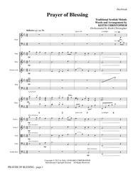 Prayer Of Blessing - Full Score