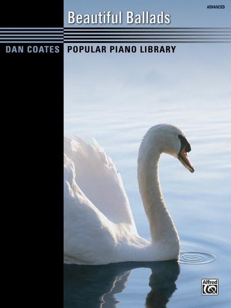 Dan Coates Popular Piano Library -- Beautiful Ballads