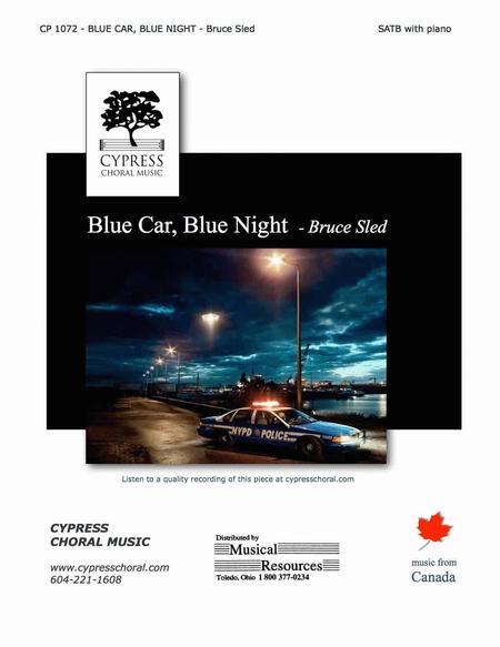 Blue Car Blue Night