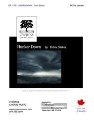 Hunker Down (SATB)