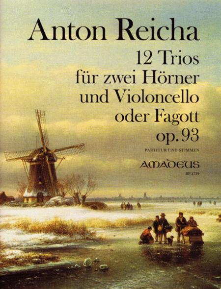 12 Trios Op. 93
