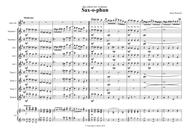 saxophun altoSax and saxorchestra Score