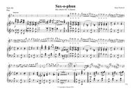 saxophun altoSax and saxorchestra parts