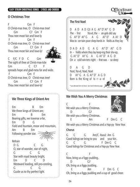 ukulele christmas songs - Christmas Songs Ukulele