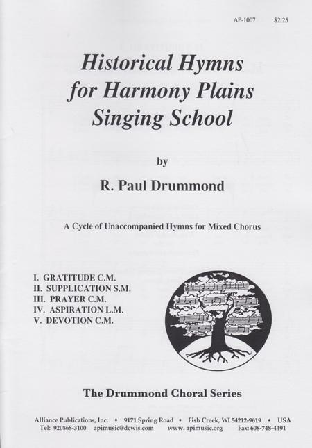 Historical Hymns for Harmony Plain Song School