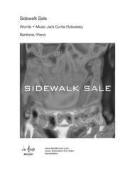 Sidewalk Sale (Baritone; Piano/Vocal)