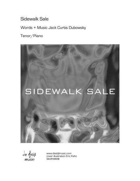 Sidewalk Sale (Tenor; Piano/Vocal)
