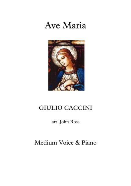 Ave Maria (Medium voice, Piano)