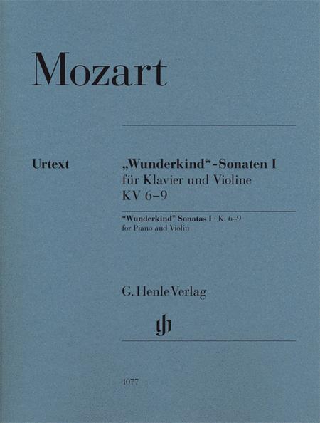Wunderkind-Sonatas for Piano and Violin Volume I