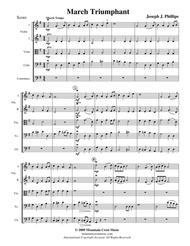 March Triumphant-score