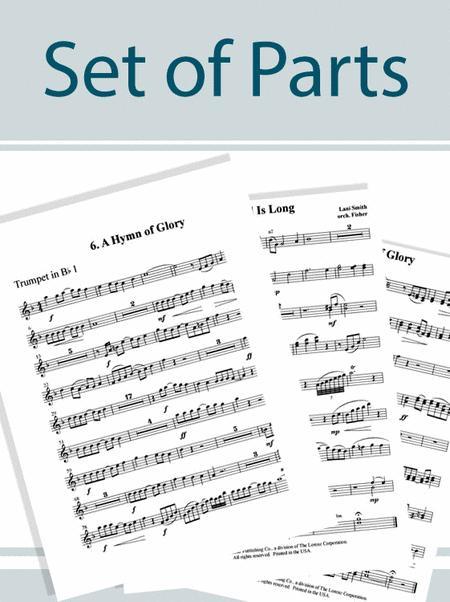Wondrous Love - Set of Full Orchestra Parts