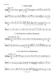 Fifteen Traditional Carols for String Orchestra - Cello Part
