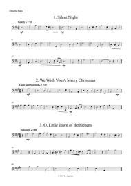Fifteen Traditional Carols for String Orchestra - Double Bass Part