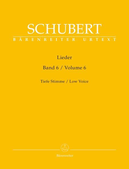 Lieder, Volume 6