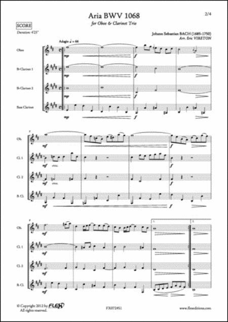 Aria BWV 1068