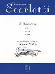 Domenico Scarlatti - Three Sonatas