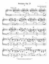 Prelude In G-Flat Major, Op. 23, No. 10