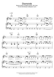 Download Diamonds Sheet Music By Rihanna - Sheet Music Plus