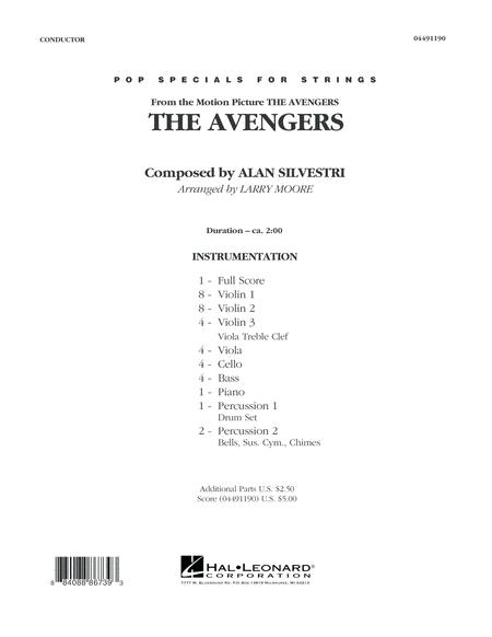 The Avengers (Main Theme) - Full Score