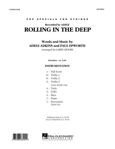 Rolling in the Deep - Full Score