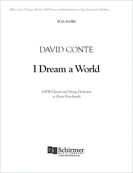 I Dream a World (Full Score)