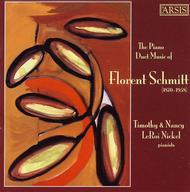 The Piano Duet Music of Florent Schmitt (1870-1958)