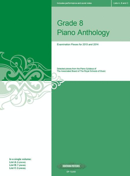 Grade 8 Piano Anthology for ABRSM 2013-2014