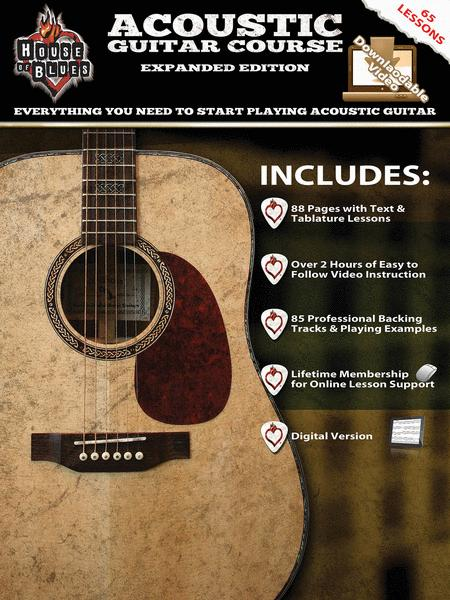 House of Blues Acoustic Guitar Course - Expanded Edition