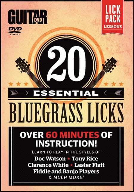 Guitar World -- 20 Essential Bluegrass Licks