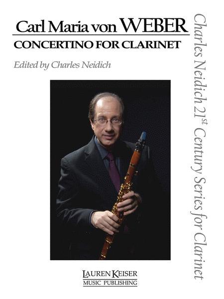 Carl Maria von Weber - Concertino for Clarinet