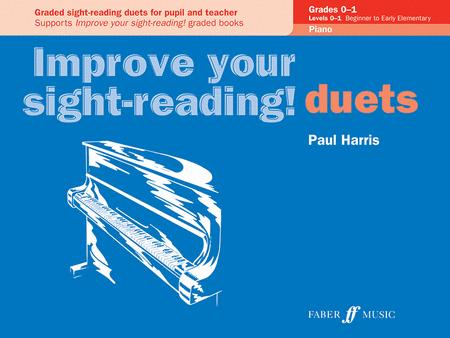 Improve Your Sight-reading! Piano Duet, Grade 0-1