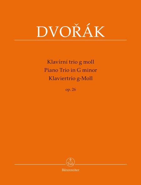 Piano Trio for Piano, Violin and Violoncello G minor op. 26