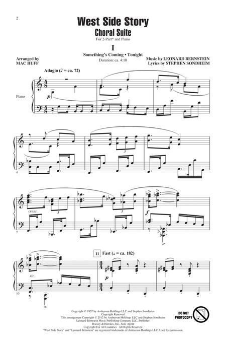 West Side Story (Choral Suite) (arr. Mac Huff)