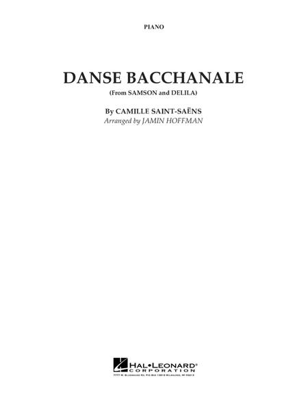 Danse Bacchanale (from Samson And Delila) - Piano