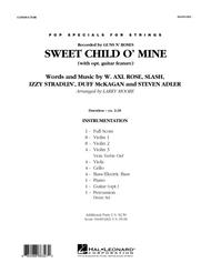 Sweet Child O' Mine - Full Score