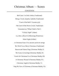 Christmas Album for String Quartet: Scores