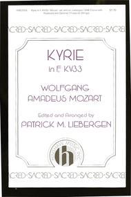 Kyrie In F, Kv33